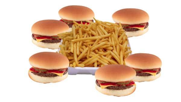 cheeseburger family pack