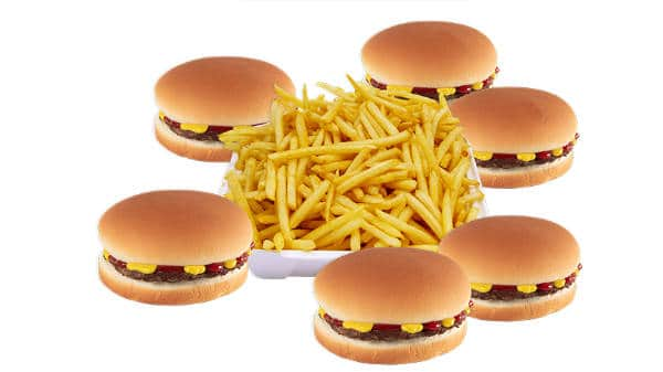 hamburger family pack